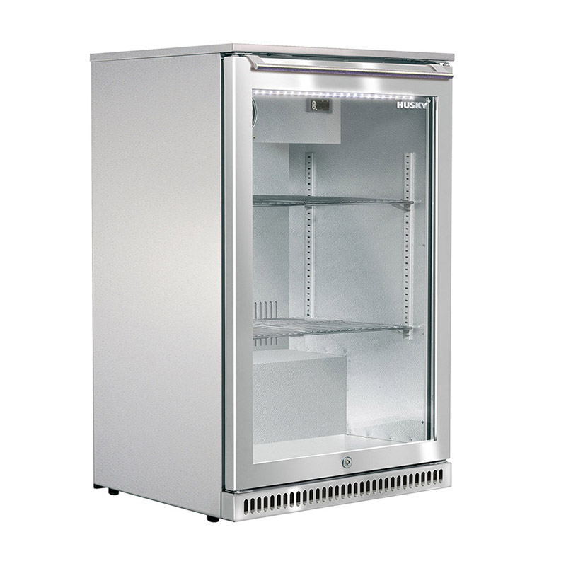 Husky Single Glass Door Alfresco Bar Fridge