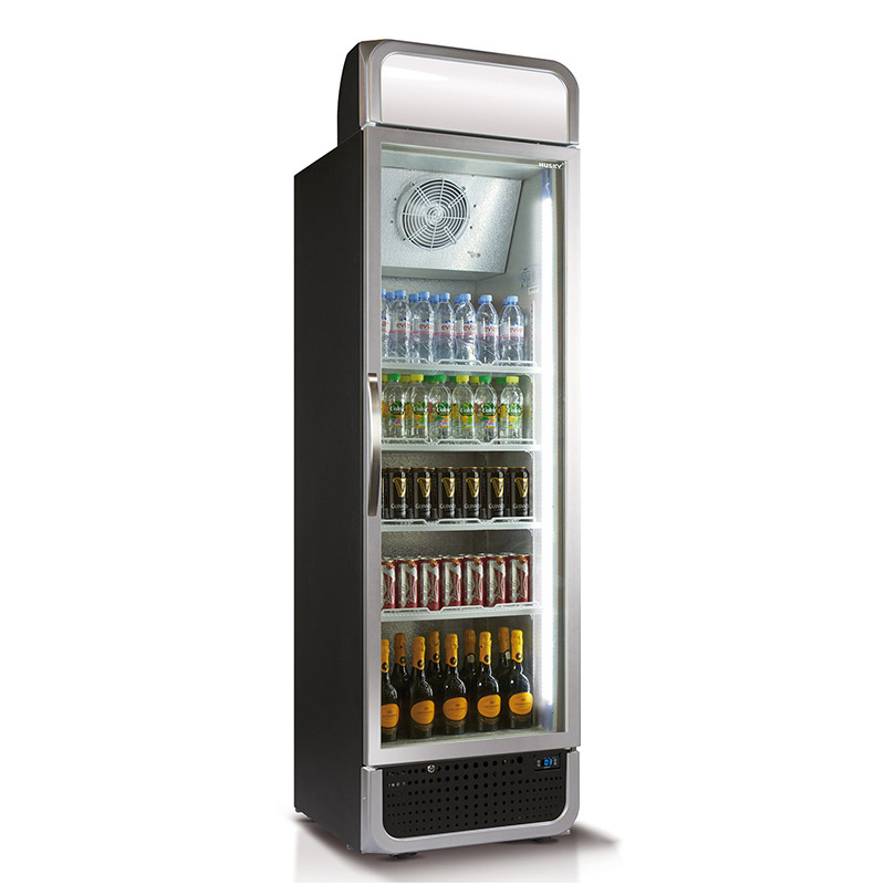 Husky Single Glass Door Commercial Refrigerator