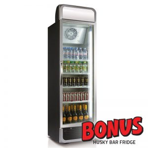 Husky C5Pro Commercial Fridge with Bonus Offer