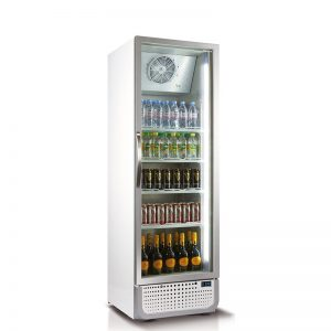 Vertical Single Glass Door Commercial Refrigerator