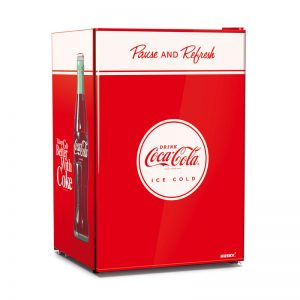 Coca-Cola Solid Undercounter Bar Fridge by Husky