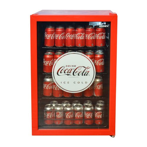 Coca Cola Coke Branded Glass Door Bar Fridge by Husky