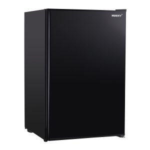 CKK110-264-BKAU - 118L Solid Door Under Counter Bar Fridge in Black