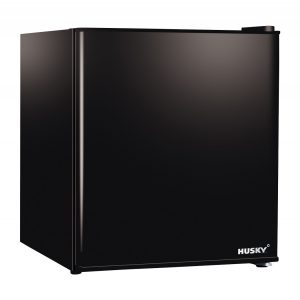 CKK50-241 46L Compact Black Solid Door Bar Fridge by Husky