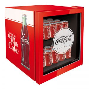 Officially Licensed Coca-Cola 46L Glass Door Bar Fridge by Husky
