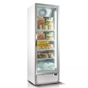 Husky Vertical Glass Door Commercial Freezer