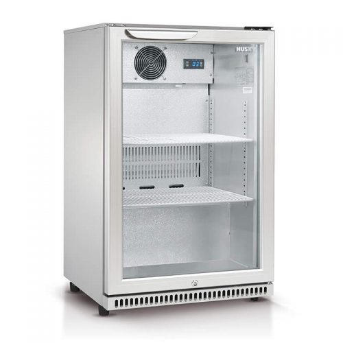 Husky Single Glass Door Bar Fridge