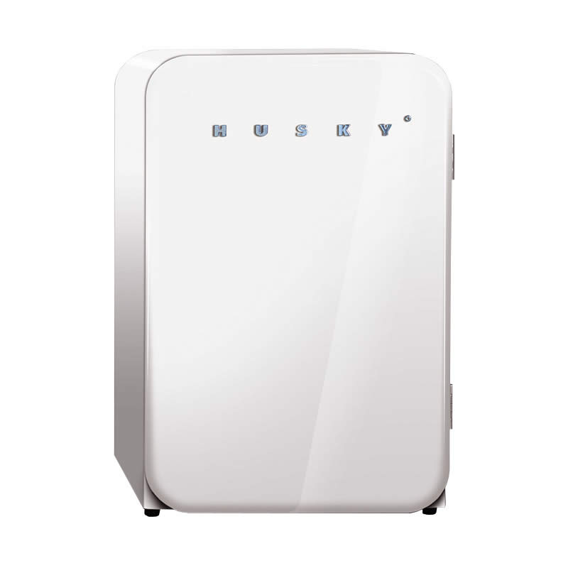 Husky Retro Bar Fridge in White