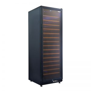 Vino Pro Single Zone Wine Fridge in Black