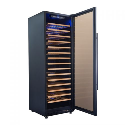 450L Single Zone Wine Fridge | HUS-WC168S-ZY / HUS-WC168S-BK-ZY