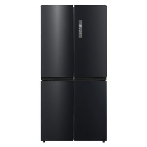 HUS545FDBIX - Husky Black 4-Door Fridge/Freezer