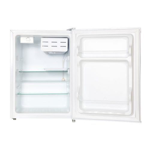 HUS-69WH - Husky 69L Solid Door Bar Fridge in White - Door Open