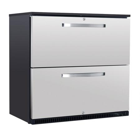 Husky Double Drawer Commercial Refrigerator